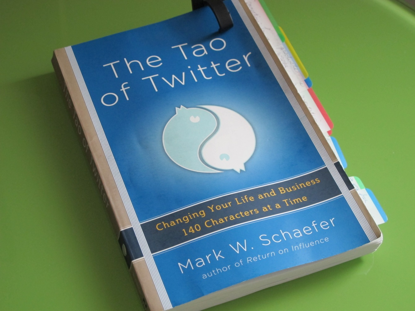 Anna Seacat's copy of The Tao of Twitter