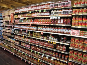 @AnnaSeacat - A red ocean of competition in the organic spaghetti sauce category.