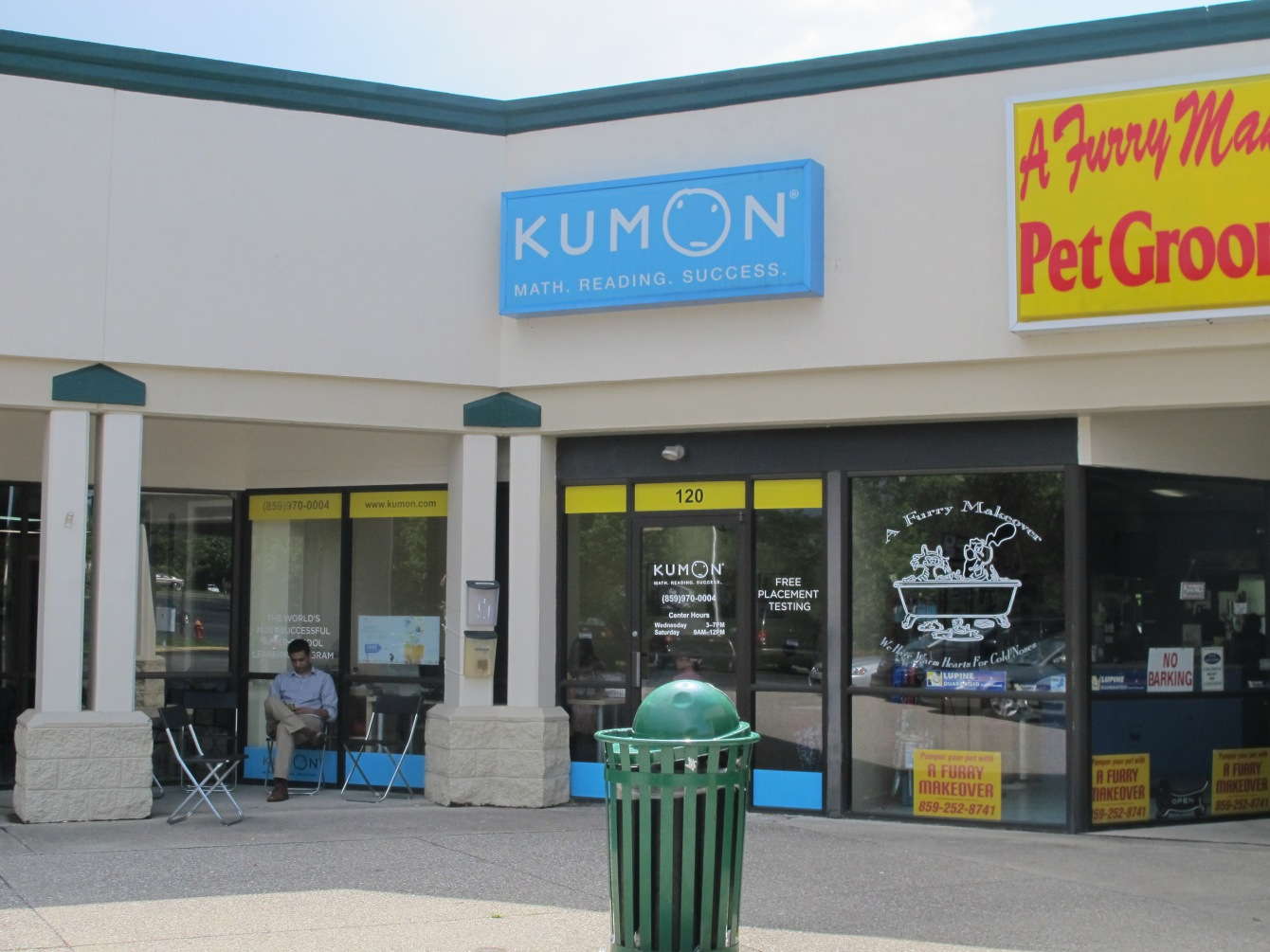 Anna Seacat's favorite Kumon center.