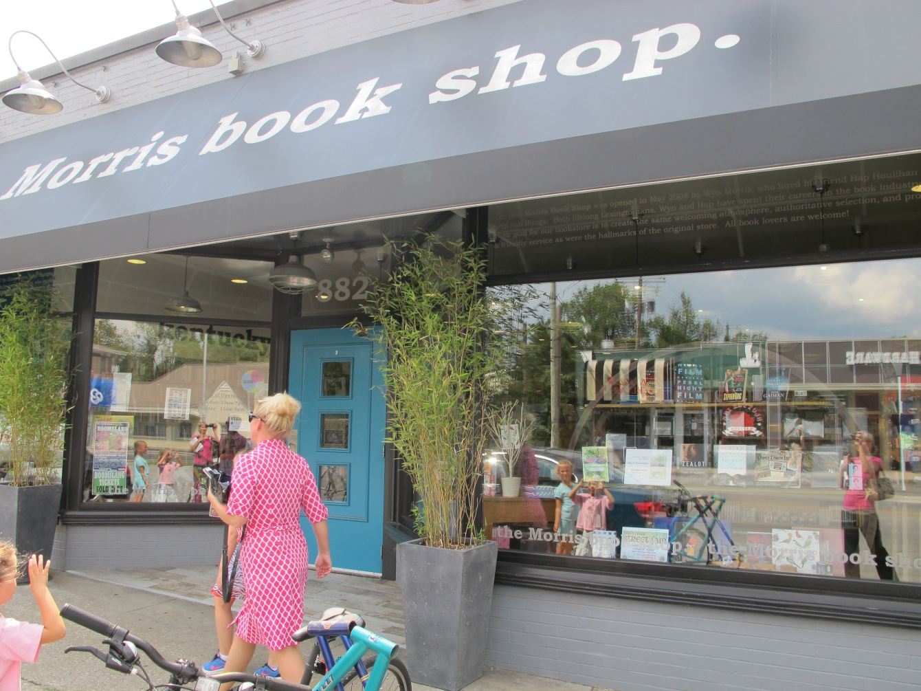 Lexington's independently owned bookstore, Morris Book Shop, is a favorite of @AnnaSeacat of Socially MInded Marketing.