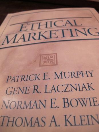 @Anna Seacat Ethical Marketing