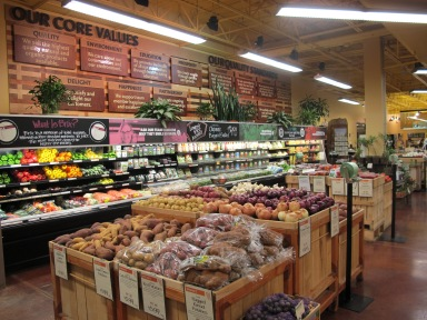 Whole Foods Market in Lexington, KY proudly displays the company's Core Values | SociallyMindedMarketing.com | Anna Seacat