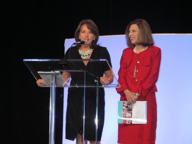 Conference organizers and friends, Deborah Collins Stephens and  Billie Dragoo created the vision and oversaw every detail of the Indiana Governor's Conference. | Anna Seacat | Socially Minded Marketing |
