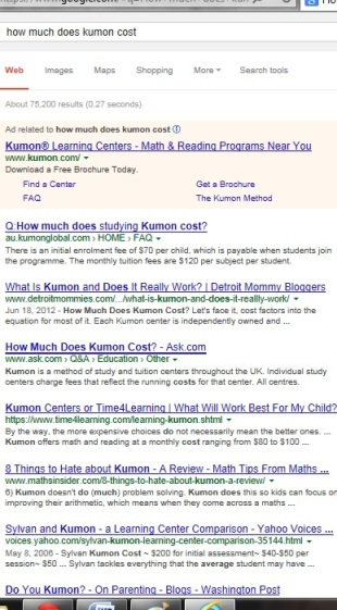 KUMON SE LEXINGTON | How much does Kumon cost? | Socially Minded Marketing