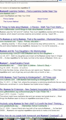 Is Kumon Too Repetitive? KUMON SE LEXINGTON | SociallyMindedMarketing.com