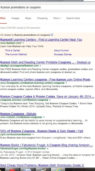 Where to find Kumon promotions and coupons? | KUMON SE LEXINGTON | SociallyMindedMarketing.com