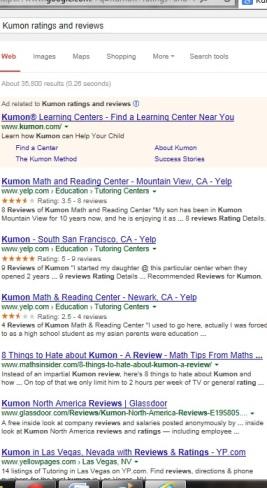 Kumon Ratings | Kumon Reviews | KUMON SE LEXINGTON, KY | SociallyMindedMarketing.com
