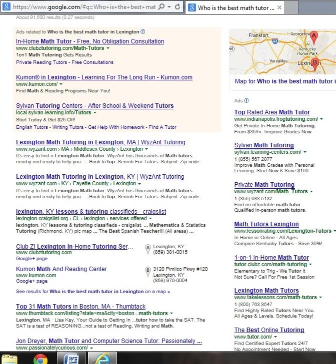 Kumon South East Lexington, Kentucky - Who is the best math tutor in Lexington? | Socially Minded Marketing |
