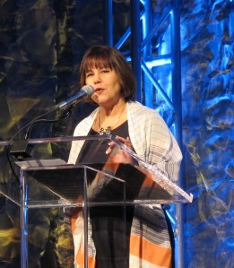 "alt=""Karen Pence at the Indiana Governors Conference"""