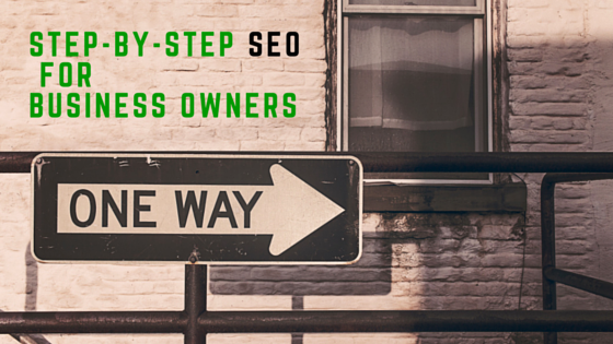 Step-by-step seo for small business